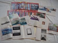 Naval History Magazine; 38 issues from 1996 to 2003 - £15 the lot or 50p each