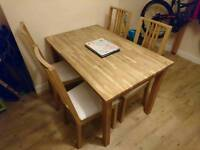 Ikea table and chairs DELIVERY AVAILABLE