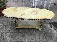 Vintage/Retro Onyx Coffee Table