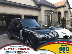 2013 Land Rover Range Rover Supercharged Autobiography Pkg  ***F