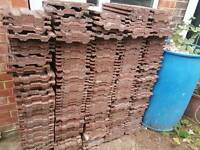 Left over roofing tiles about (240)
