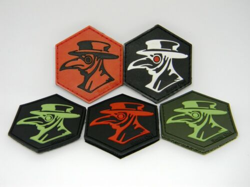 PLAQUE DOCTOR TACTICAL MORALE PATCH MILITARY HOOK & LOOP PVC RUBBER BADGE NEW