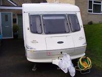 Elddis Vogue Tornado 5 berth caravan