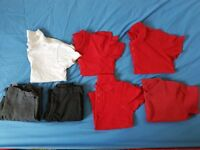 Bundle of boy school clothes - George 5-6
