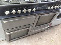 Silver Range gas cooker 90cm...cheap free delivery