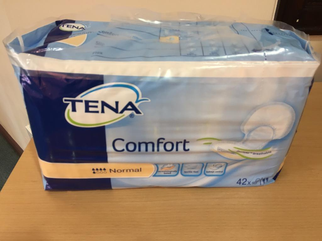 Tena Comfort Normal shaped incontinence pads