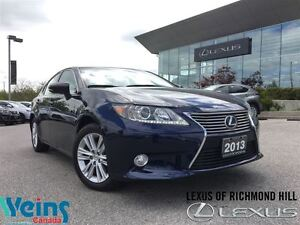 2013 Lexus ES 350 LEATHER/NAV PKG/ONE OWNER