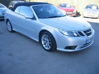 08/08 SAAB 9.3 CONVERTIBLE 1.9 TID. FULL LEATHER.