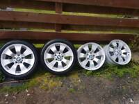 Bmw wheels two pairs for £300