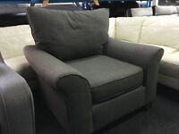 New/Ex Display Storm Cargo Grayson Love Sofa Chair