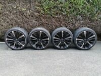 JUST REDUCED FOR QUICK SALE-expensive(RRP £1,700.00) 22 inch 5/108 HAWKEalloy wheels for range rover
