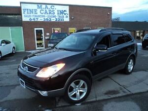 2012 Hyundai Veracruz GLS AWD - 7 PASS - LEATHER - SUNROOF