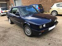 BMW E30 CONVERTIBLE 320 J REG