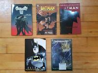 Batman graphic novels x5