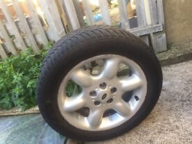 Landrover freelander1 alloy wheels and tyres