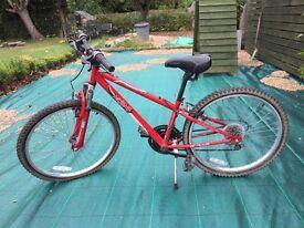 Red Child's Mountain Bike