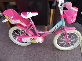 "Disney Princess 16"" Bike - 1 year old, fantastic condition."