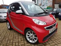 Smart Fortwo 1.0 MHD Passion Softouch 2dr, Convertable, Automatic