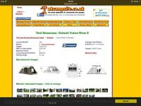 OUTWELL YUKON RIVER 6 see attached reviews