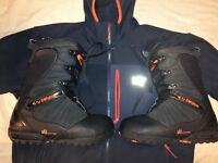 32 Team Two snowboard boots sz 8uk new!