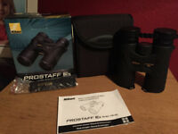 Nikon prostaff 3s binoculars 10x42, New