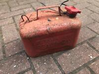 ******Metal Vintage Petrol Jerry cans***2 to chose from*****