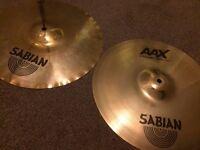 """Sabian AAX X-Celerator hihats cymbals 14"""""""