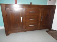 (Real Wood) Tv Stand (Side Board) (Can Delliver***)