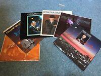 Frank Sinatra vinyl records.