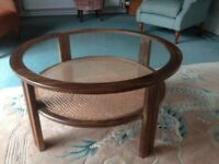 Round 'G'Plan coffee table.