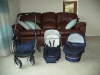 iCandy Cherry Special Edition Pram / Carrycot & Accessories - Navy Flag