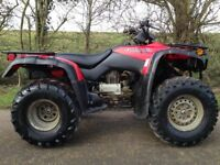 HONDA TRX 350 FOURTRAX FOURMAN QUAD ATV FARM 420 300 350 500 250 Polaris