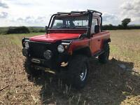 Land Rover Defender 90 ARB diff lockers , challenge truck
