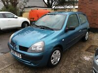 Renault Clio Rush, 1.2ltr brand new mot and fresh service REDUCED ideal small first time driver car