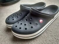 Crocs Mens Men's Crocband Shoes Genuine originals Size M 12