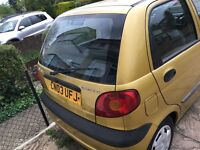 Daewoo matiz car sale
