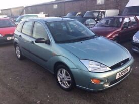 FORD FOCUS IN CLEAN CONDITION LOVELY DRIVER LONG MOT IDEAL CHEAP RUNABOUT ANY TRIAL WELCOME