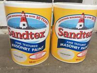 Sandtex exterior paint