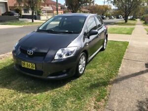 2007 Toyota Corolla Levin Zr 4 Sp Automatic 5d Hatchback