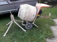 Belle 150 minimix 110v cement mixer