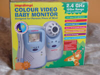 Colour Video Baby Monitor