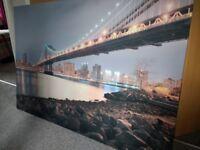 Large wallcanvas print