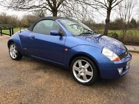 FORD STREETKA LUXURY 2005 CONVERTIBLE..ONLY DONE 45K ..LEATHERS...LONG MOT.. DRIVES SUPERB