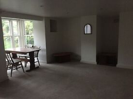 Two bedroom basement flat available in family house