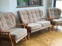 Set of chairs / sofas