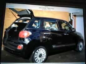 Fiat 500L glass roof popstar