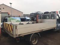 Ford transit aluminium pick up body good condition