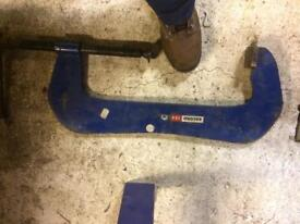 """Extra large G clamp. Record 18"""""""