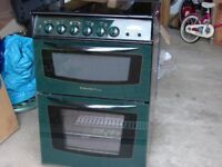 electrolux double oven in green