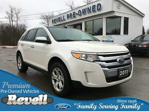 2011 Ford Edge SEL AWD  *Moonroof  Heated leather  Navigation  S